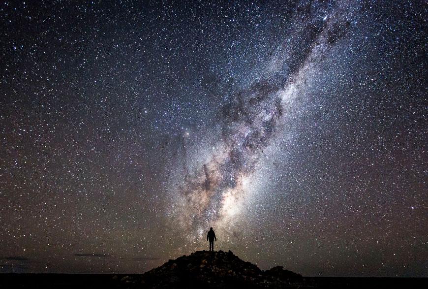 австралия млечный путь фото наиболее