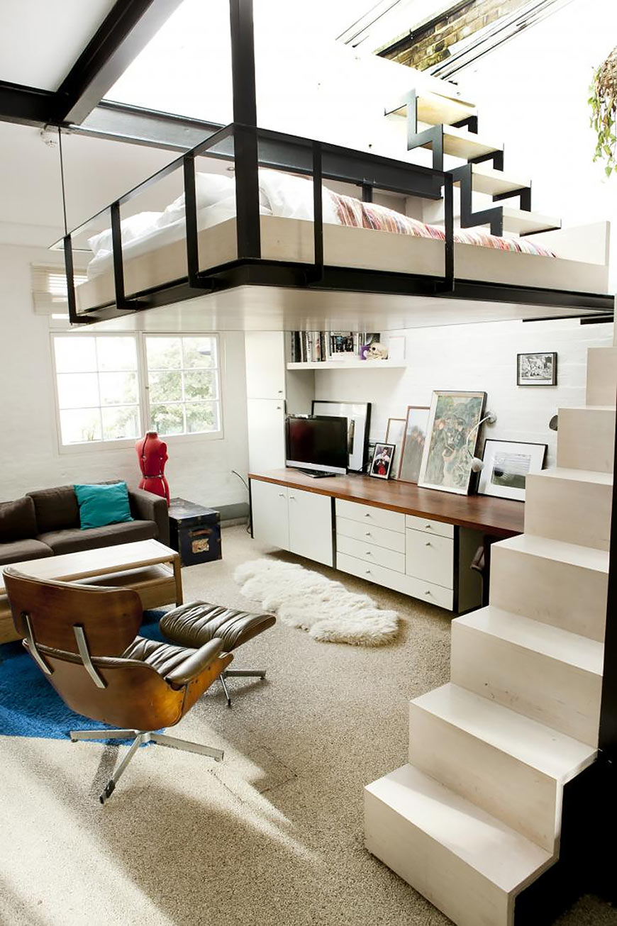 To get you inspired: 12 awesome ideas where to put a bed in a tiny ...